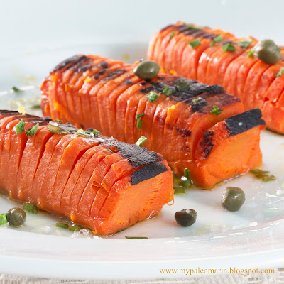 hasselback carrots orange swedish
