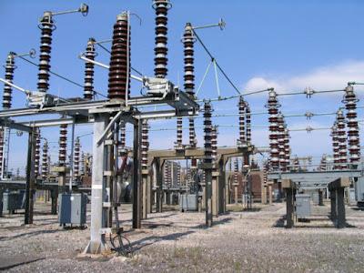 Subestación eléctrica en Prenton