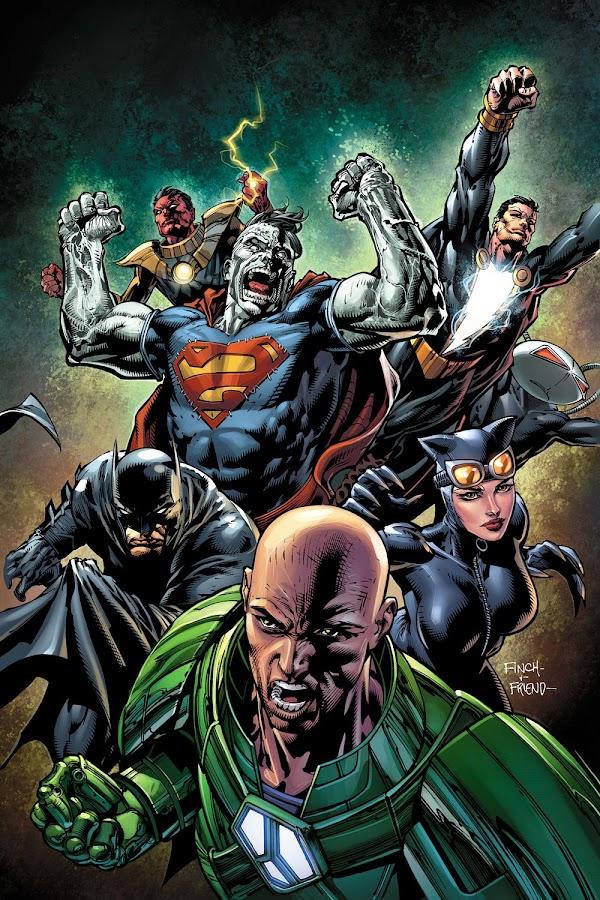 lex luthor injustice league dc