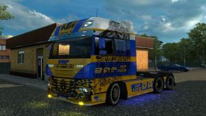 Skins for DAF XF by Shadow X