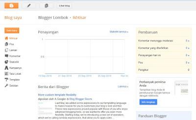 panduan lengkap membuat blog di Blogger