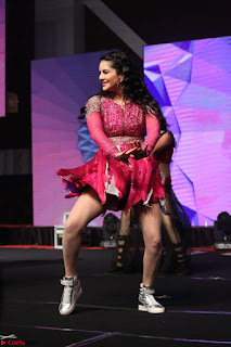 Sunny Leone Dancing on stage At Rogue Movie Audio Music Launch ~  250.JPG