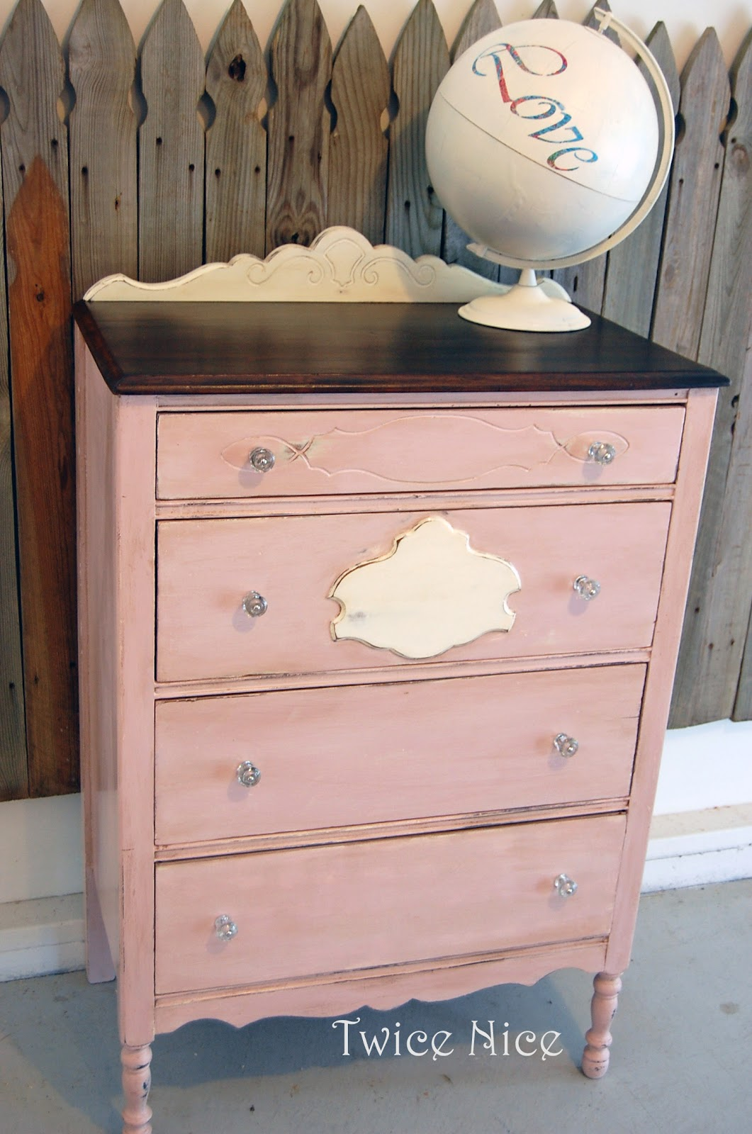 Pink Dressers For Girls Bedroom Set: Twice Nice: Sweet Pink Dresser