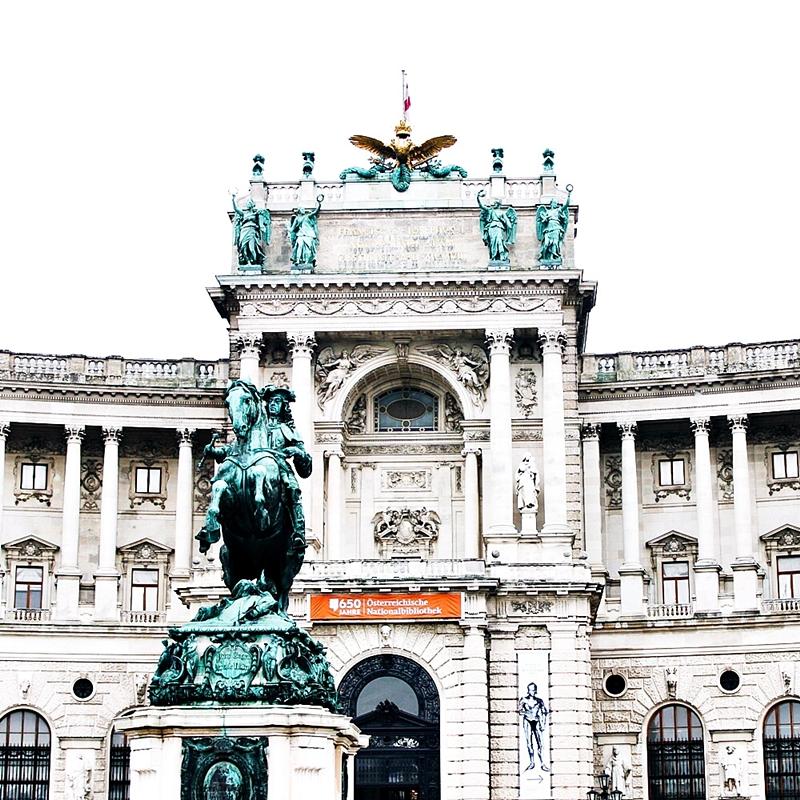 48h in Vienna Hofburg palace visit