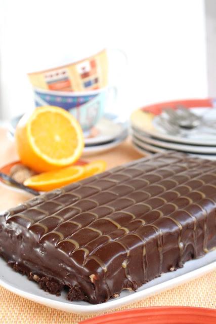 Yes-Torte: Calendar of Ingredients im Januar mit Orange, Vanille und Muskat