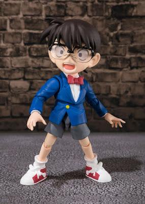 """Figuras: Imágenes y detalles del S.H. Figuarts de Conan Edogawa de """"Detective Conan"""" - Tamashii Nations"""