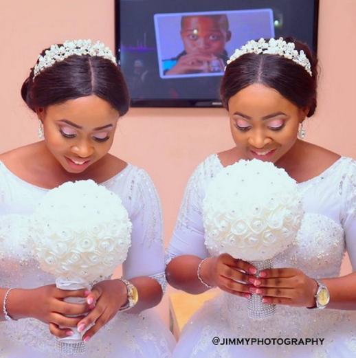 benin city twins wedding