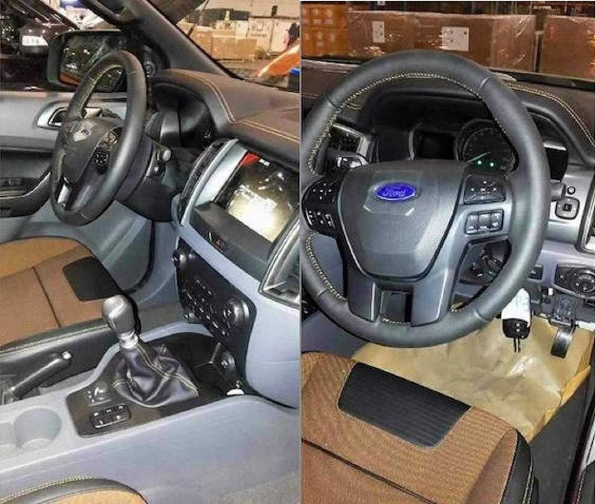 Ranger 2016 - interior