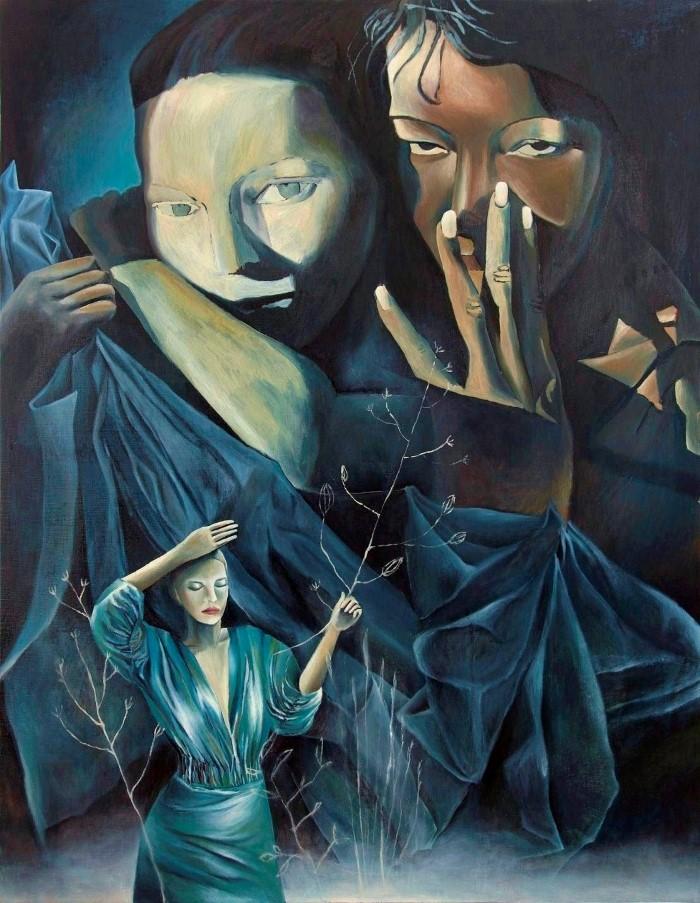 Хорватский художник. Petra Grozaj