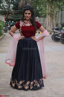 Actress Aathmika in lovely Maraoon Choli ¬  Exclusive Celebrities galleries 033.jpg