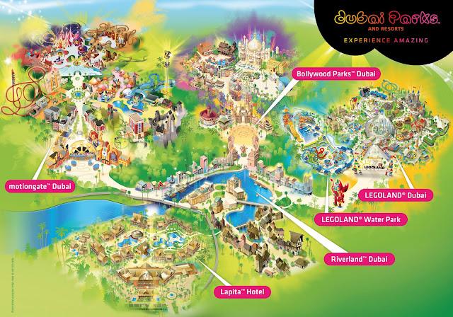 Dubai Parks & Resort - Salika Travel - Lapita Dubai Parks & Resorts Winter Package