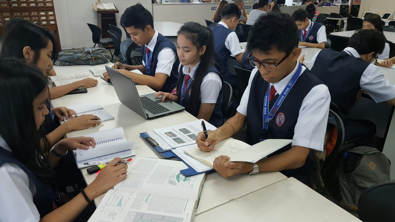 amaes pioneers blended learning system for senior high
