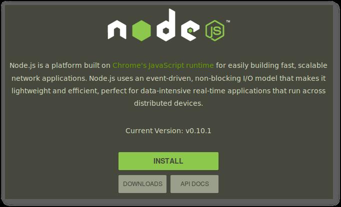 Starting Nodejs Development on Ubuntu | jr0cket