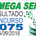 Resultado da Mega Sena concurso 2075 (05/09/2018) ACUMULOU!!!