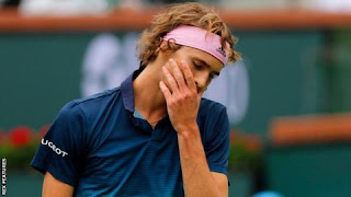 Zverev beaten by compatriot Struff at Indian Wells