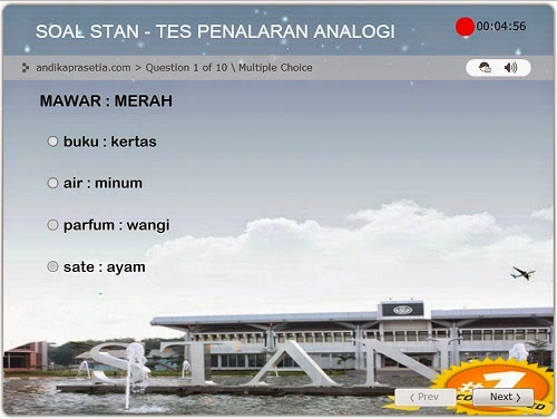 soal stan analogi