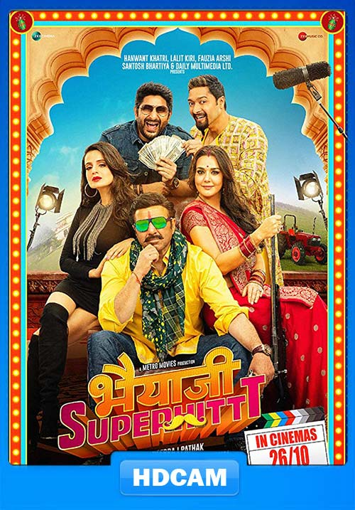 Bhaiaji Superhit 2018 Hindi 720p HQ preDVDRip x264 | 480p 300MB | 100MB HEVC