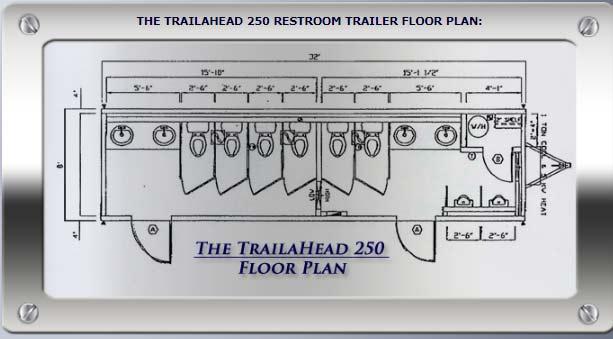 Toilet Trailer Floor Plan