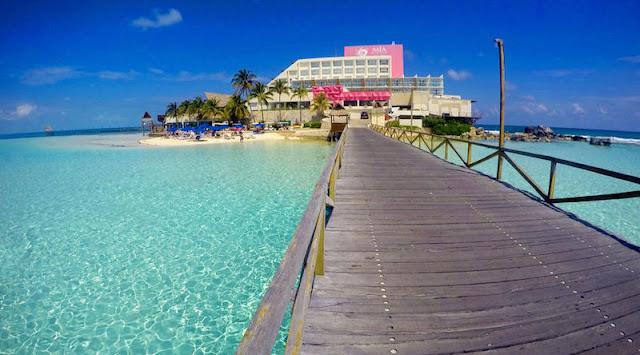 Mia Reef em Isla Mujeres