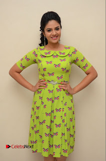 Sri Mukhi Latest Pictures in Green Dress at Mental Movie Audio Launch ~ Celebs Next