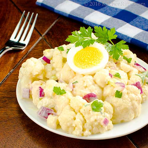 Cauliflower Potato-Style Salad