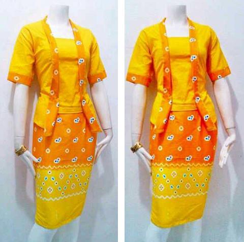 model baju batik jumputan