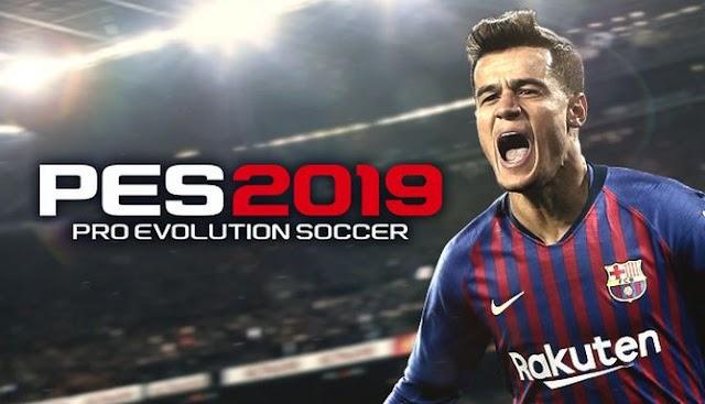 تحميل لعبة  FULL UNLOCKED  PRO EVOLUTION SOCCER 2019  كاملة برابط مباشر او تورنت