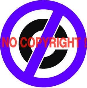 dilarang memakai gambar hak cipta