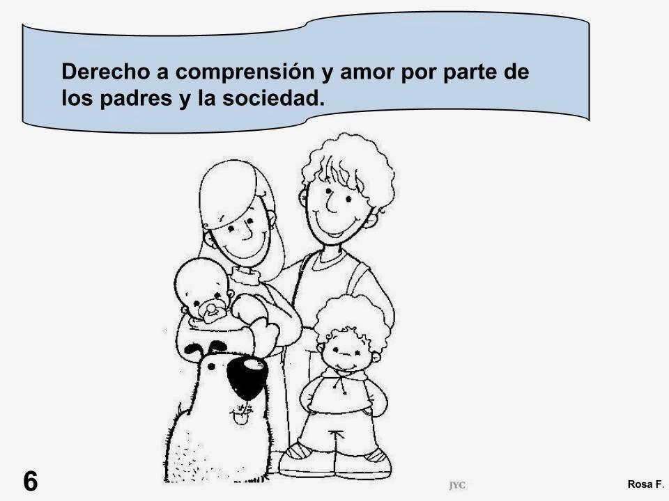 Maestra De Primaria Los Derechos Del Nino Carteles Para Colorear