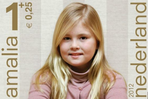 Princess Amalia,Princess Alexia and Princess Ariane to be used for the Children's Stamps 2012