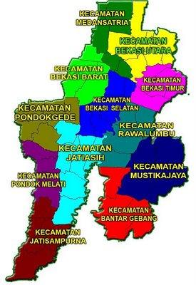 Batas Kecamatan Bekasi Timur