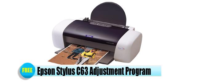 Epson Stylus C63 Adjustment Program
