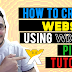 How to Create Your Own Website For FREE - A Step-by-Step Tutorial on Creating your own website using the Wix Platform
