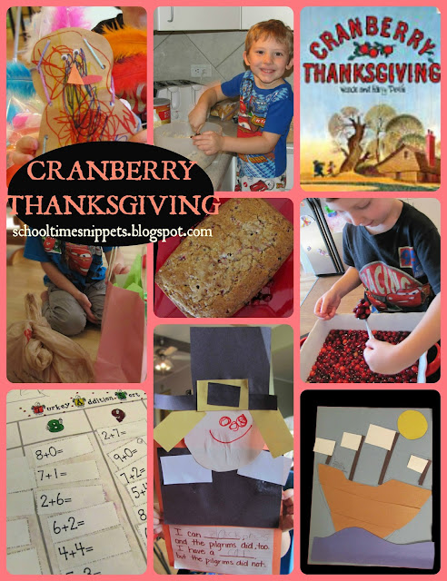 Cranberry Thanksgiving Activities