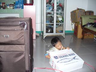 Yukova Nathaniel Packing Mudik