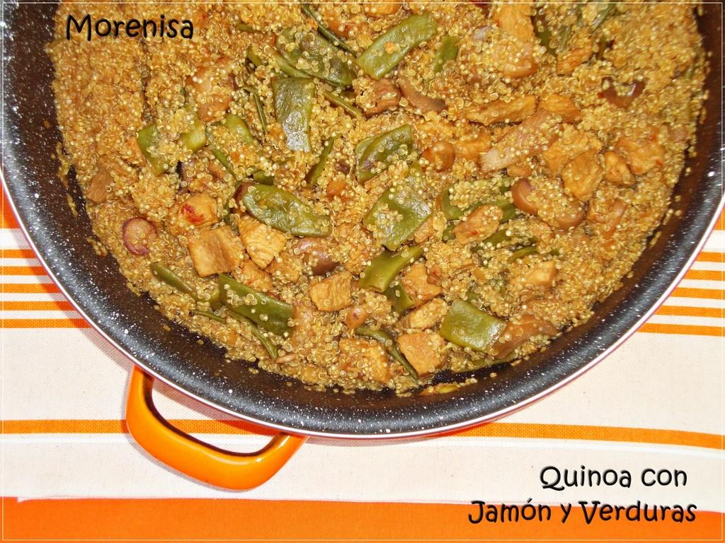 La cocina de morenisa quinoa con verduras y carne for Cocina quinoa con verduras