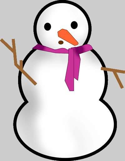 clipart snowman free - photo #40
