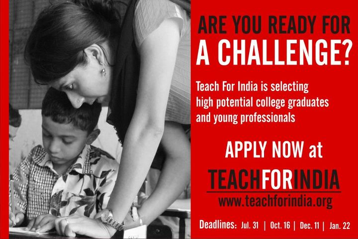 Teach For India Fellowship Dates 2018