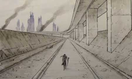 How To Draw Backgrounds With Perspective