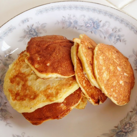 The Food Health: Natural Pancake Recipe With Only 2 Ingredients