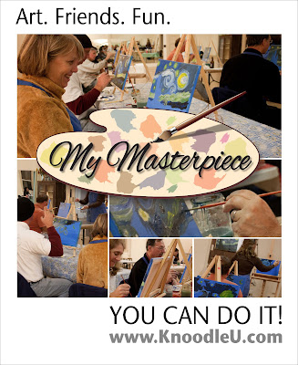 Atascadero Adult Painting Class - Art and Wine - My Masterpiece - Studio 101 West - KnoodleU