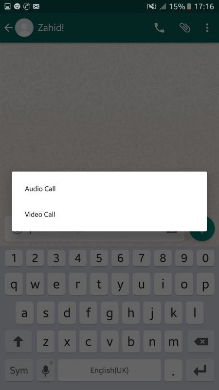 WhatsApp Released Video Calling for Beta Users