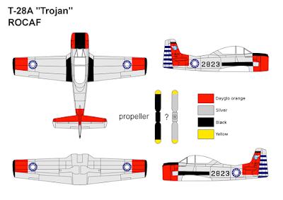 T-28A Trojan ROCAF