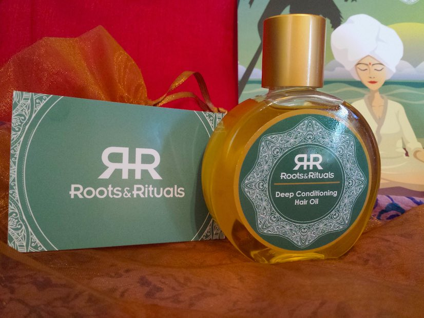 Roots & Rituals Deep Conditioning Hair Oil