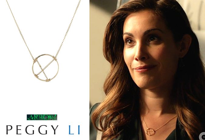 Carly Pope Arrow Necklace