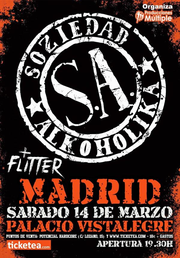 Soziedad Alkoholika, Madrid, Concierto