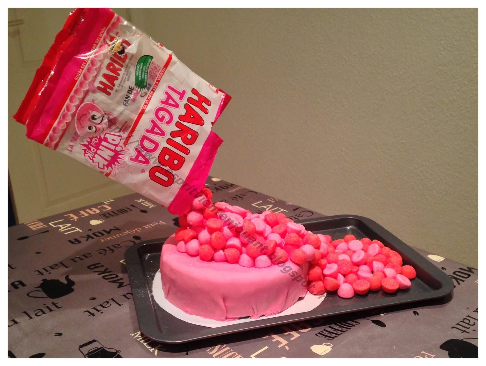 Recette Gateau Gravity Cake