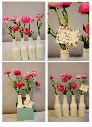 Kerajinan Tangan Dari Botol Bekas - Vas Bunga
