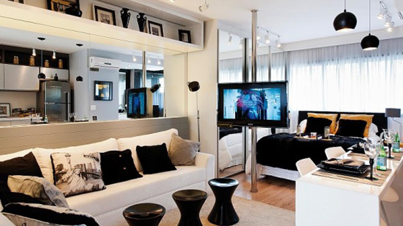 decorando um apartamento pequeno