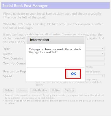 Cara Menghapus Semua Postingan Terdahulu atau Postingan Lama Di Facebook Secara Otomatis
